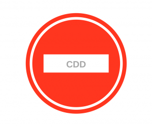Interdiction de recours au CDD