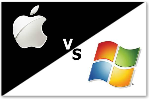 Microsoft, Apple et la confrontation par publicité