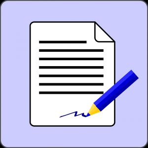 signature testament