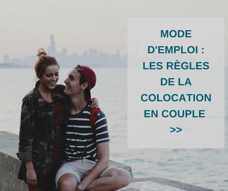 Congé et colocation en couple