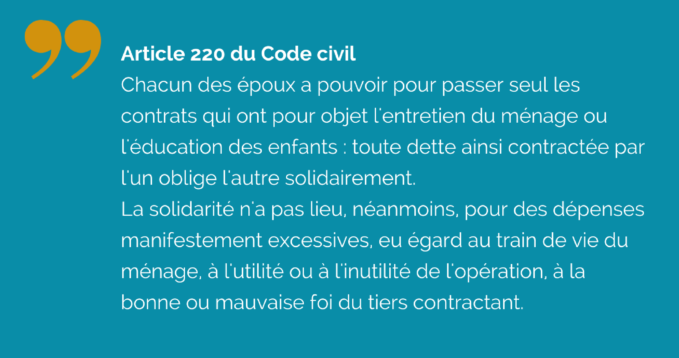 Article 220 du Code civil