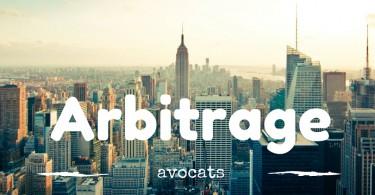 avocat en droit de l'arbitrage