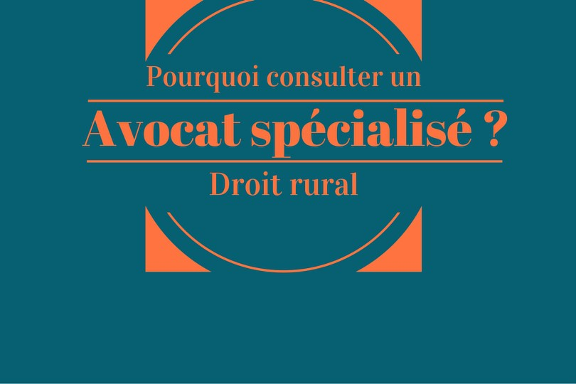 avocat en droit rural