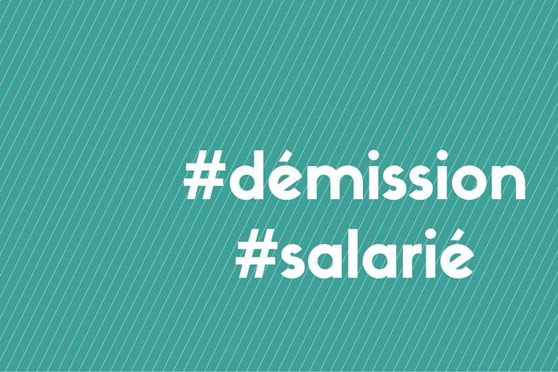 démission d'un salarié