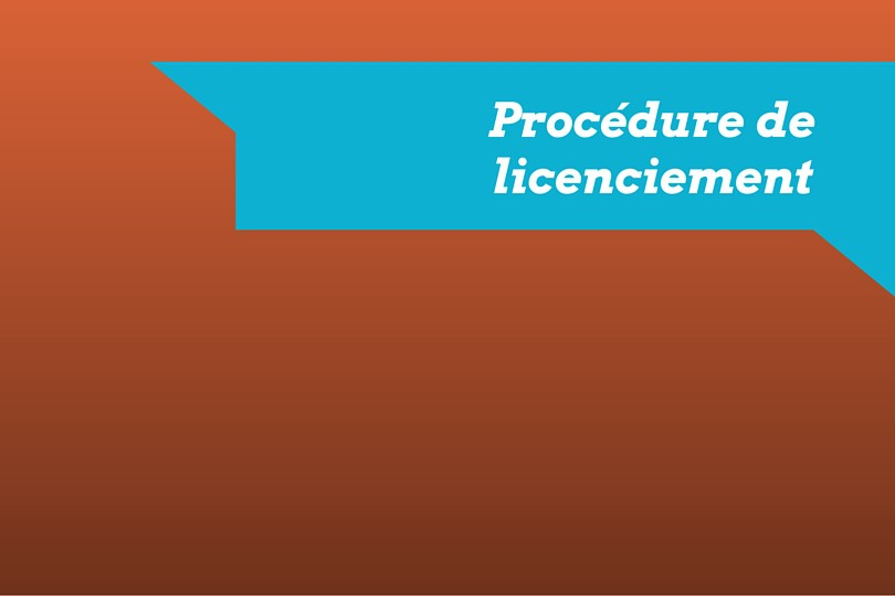 procedure de licenciement