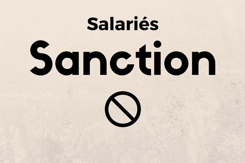 Comment Sanctionner Un Salarie Legalife
