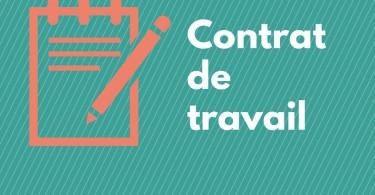 modifier contrat de travail