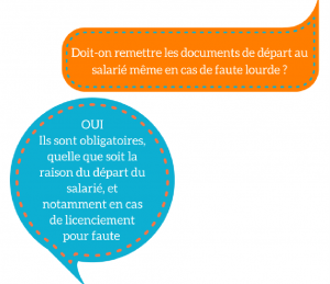 Les documents obligatoires