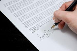 Document pour compromis de vente