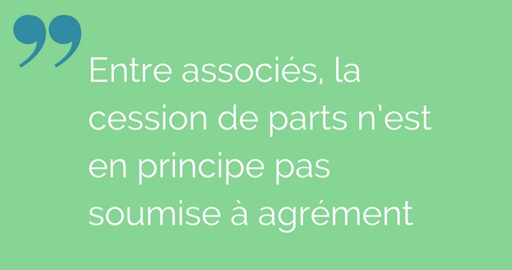 cession parts sociales associes agrement