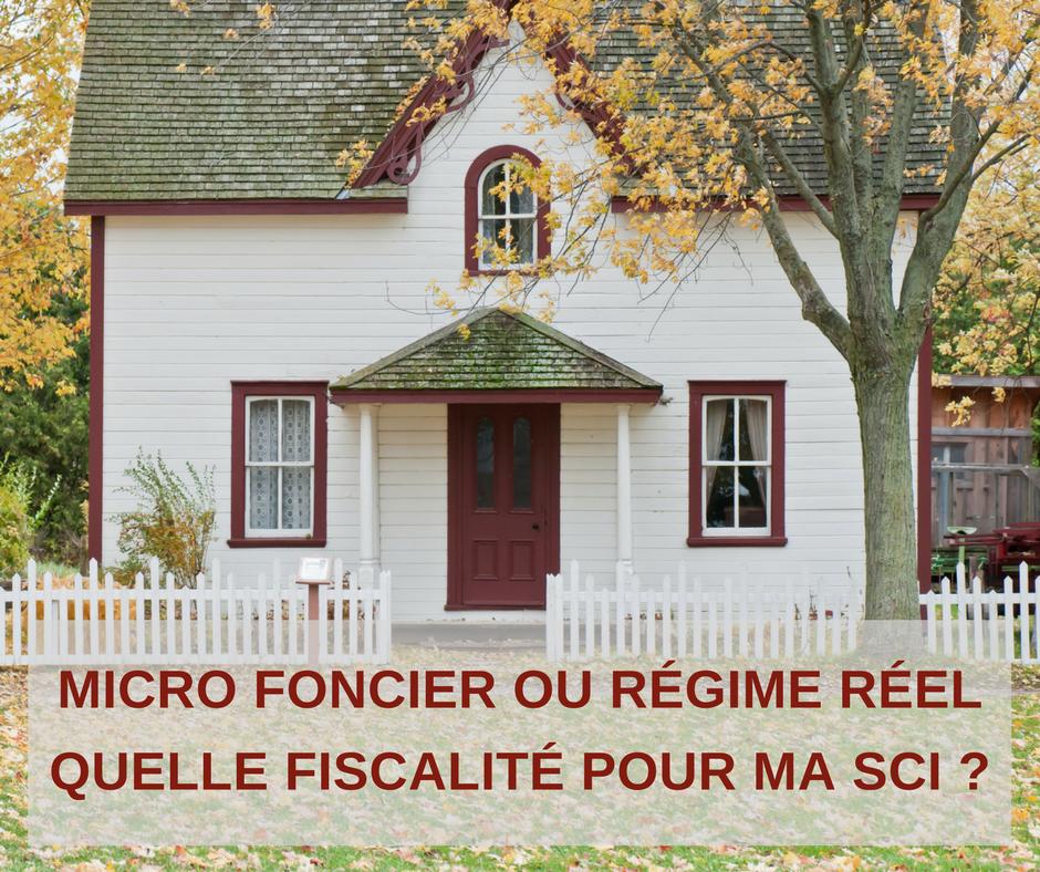 Micro foncier ou régime réel