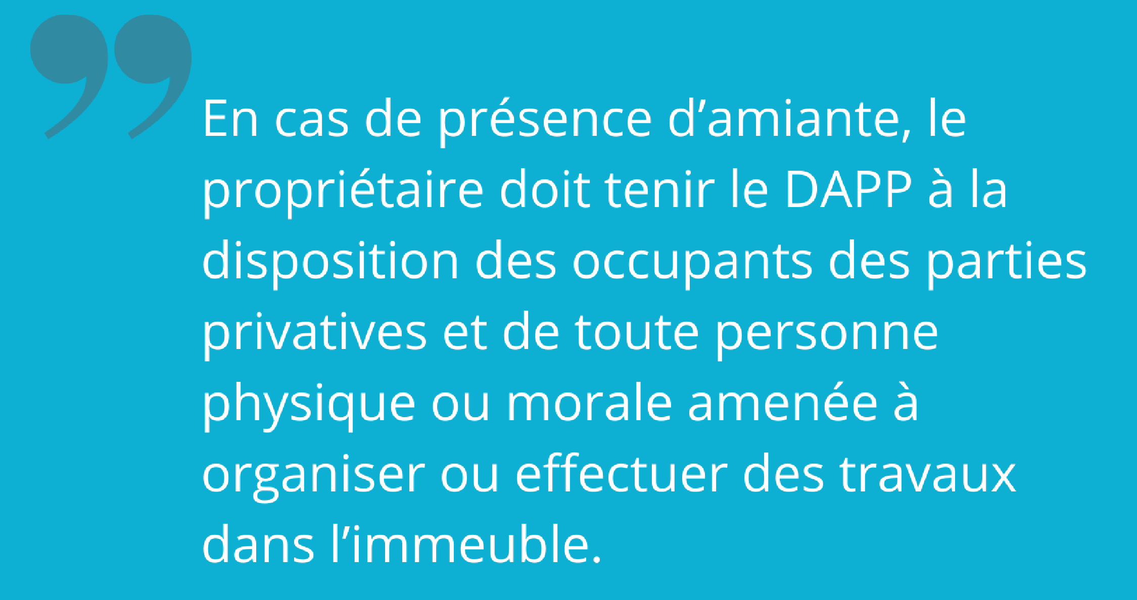 Bail d'habitation : le diagnostic amiante